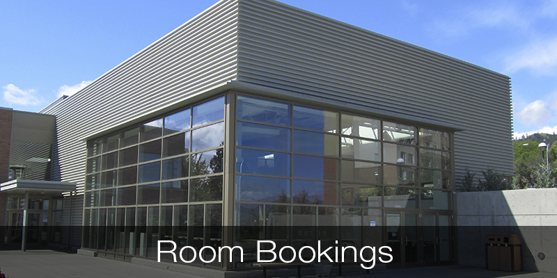 Room Bookings Students' Union Building